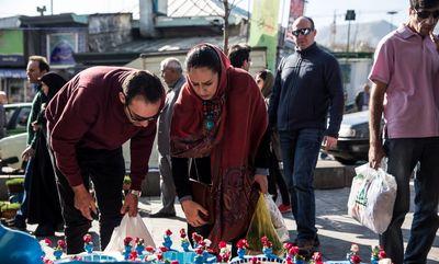خرید عید در میدان تجریش +تصاویر