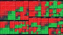 نمای بورس امروز در پایان نیمه اول معاملات/ خروج ۷۰۰میلیارد پول حقیقی با ادامه افت شاخص