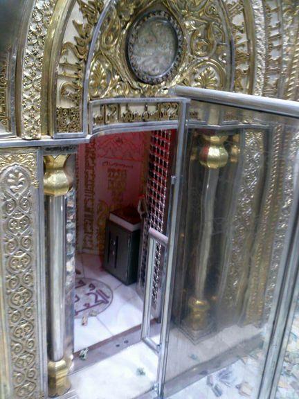 تصویری از محل ضربت خوردن امام علی (ع)