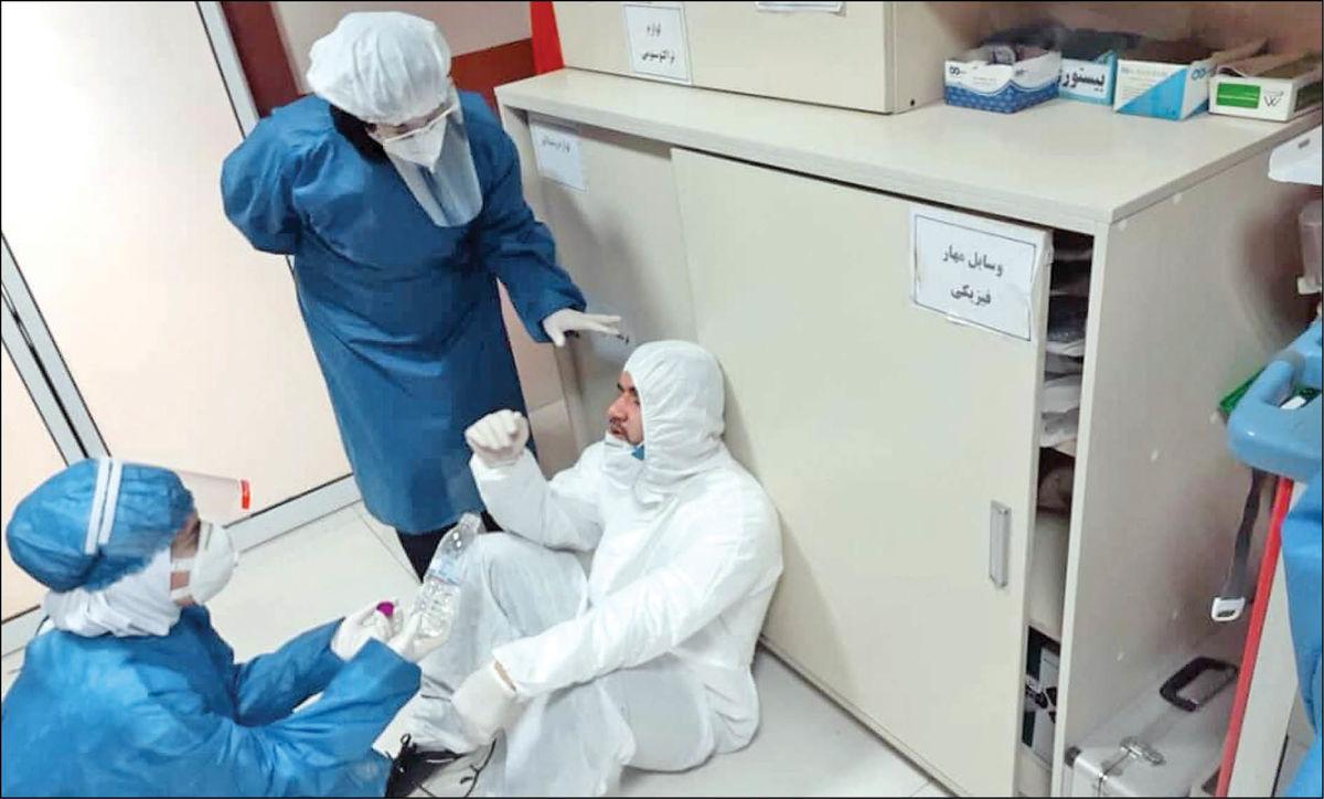 کادر درمان در انتظار دوز سوم واکسن