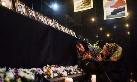 تلخترین یادبود با حضور خانوادههای جانباختگان سانچی