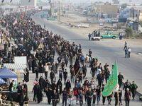 خدماتدهی مستمر شهرداری منطقه ۶به زائران اربعین در مرز شلمچه