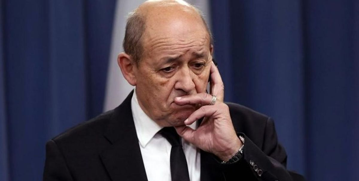 لودریان: اوضاع درمورد برنامه هستهای ایران نگران کننده است