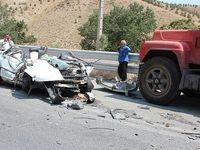 ۴ کشته در تصادف پراید با تریلی