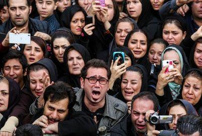 اشک هواداران مرتضی پاشایی +عکس