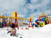 بارش برف در استان گیلان +تصاویر