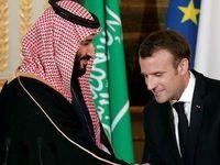 تماس تلفنی ماکرون با ولیعهد سعودی درباره حادثه آرامکو