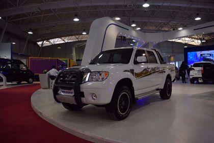 حضور بهمن موتور در نمایشگاه خودرو شیراز +تصاویر