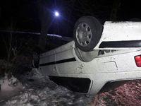 واژگونی خودرو پژو پارس در محور ورامین-پیشوا
