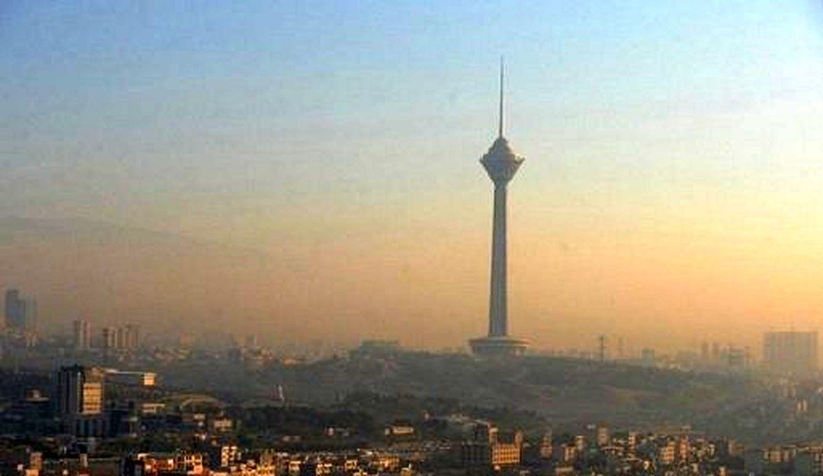 آلودگی هوا در تابستان داغ تهران