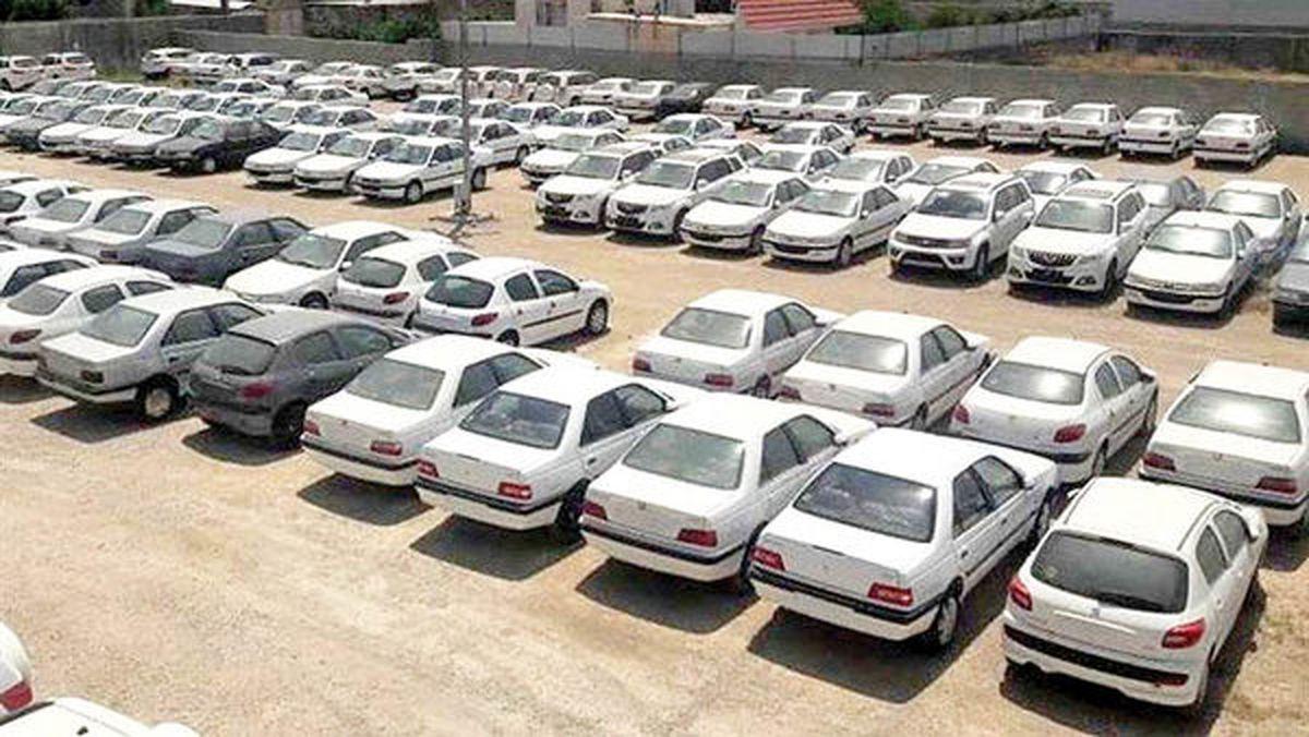 پایان حبس ۳۸۰۰ خودرو