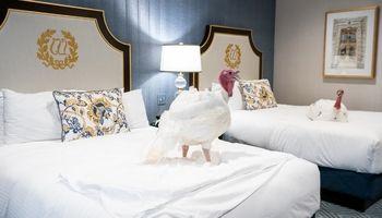 اقامت دو بوقلمون جشن شکرگزاری در هتل لوکس! +تصاویر