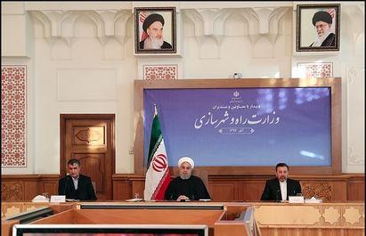 حسن روحانی در دیدار با معاونان وزارت راه و شهرسازی