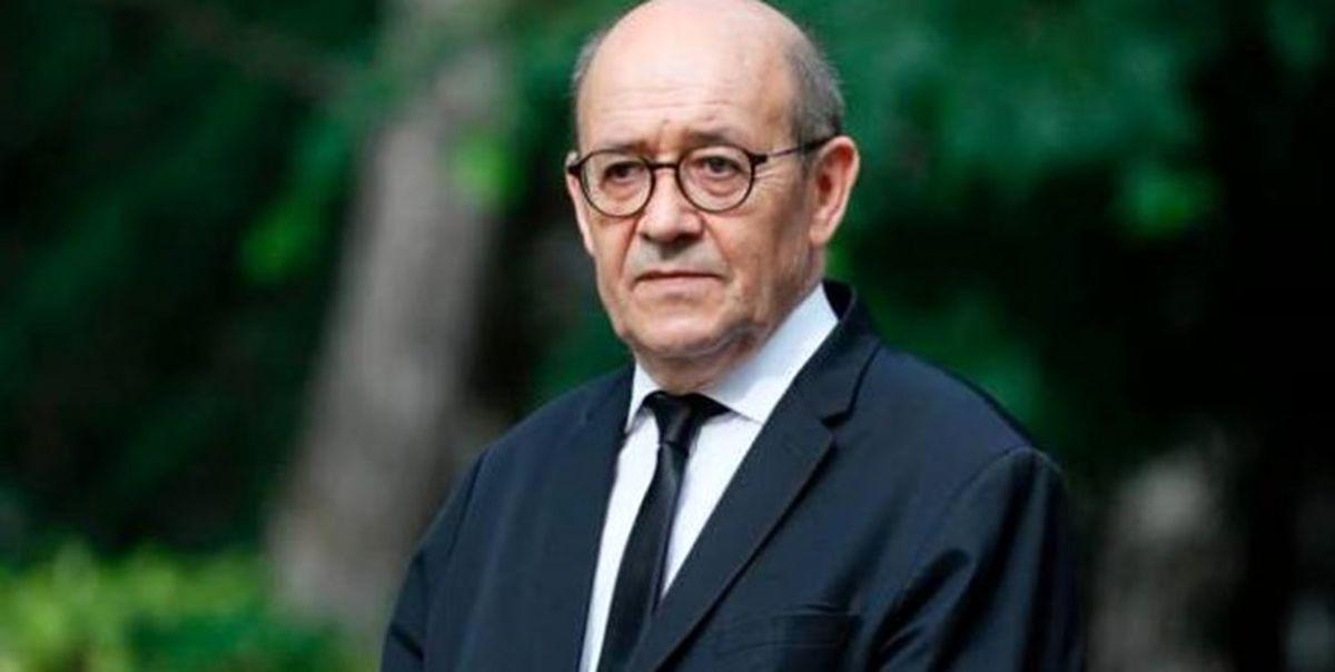 لودریان: به رسمیت شناختن طالبان فعلا مورد توجه فرانسه نیست