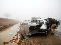 تصادف زنجیرهای در آزادراه نطنز-کاشان ۷کشته و مصدوم داشت