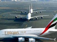 هواپیمایی امارات مسیرهای پروازی خود بر فراز خلیج فارس را تغییر میدهد