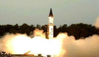آزمایش موشک بالستیک قارهپیما با حمل کلاهک توسط هند
