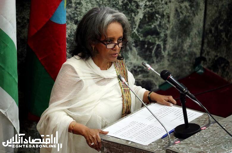 Ethiopia's President Sahle-Work Zewde, in office since October 25, 2018.