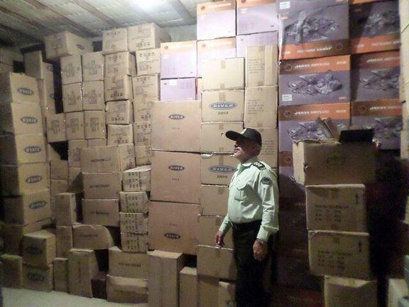 کشف ۵تریلر کالای قاچاق در نطنز