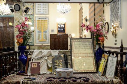 مراسم بزرگداشت امام خمینی(ره) در انجمن کلیمیان +عکس
