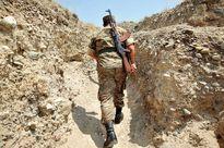 دود جنگ قره باغ در آسمان عراق +عکس