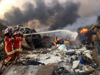 خسارات ناشی از انفجار بیروت ۵میلیارد دلار برآورد شد