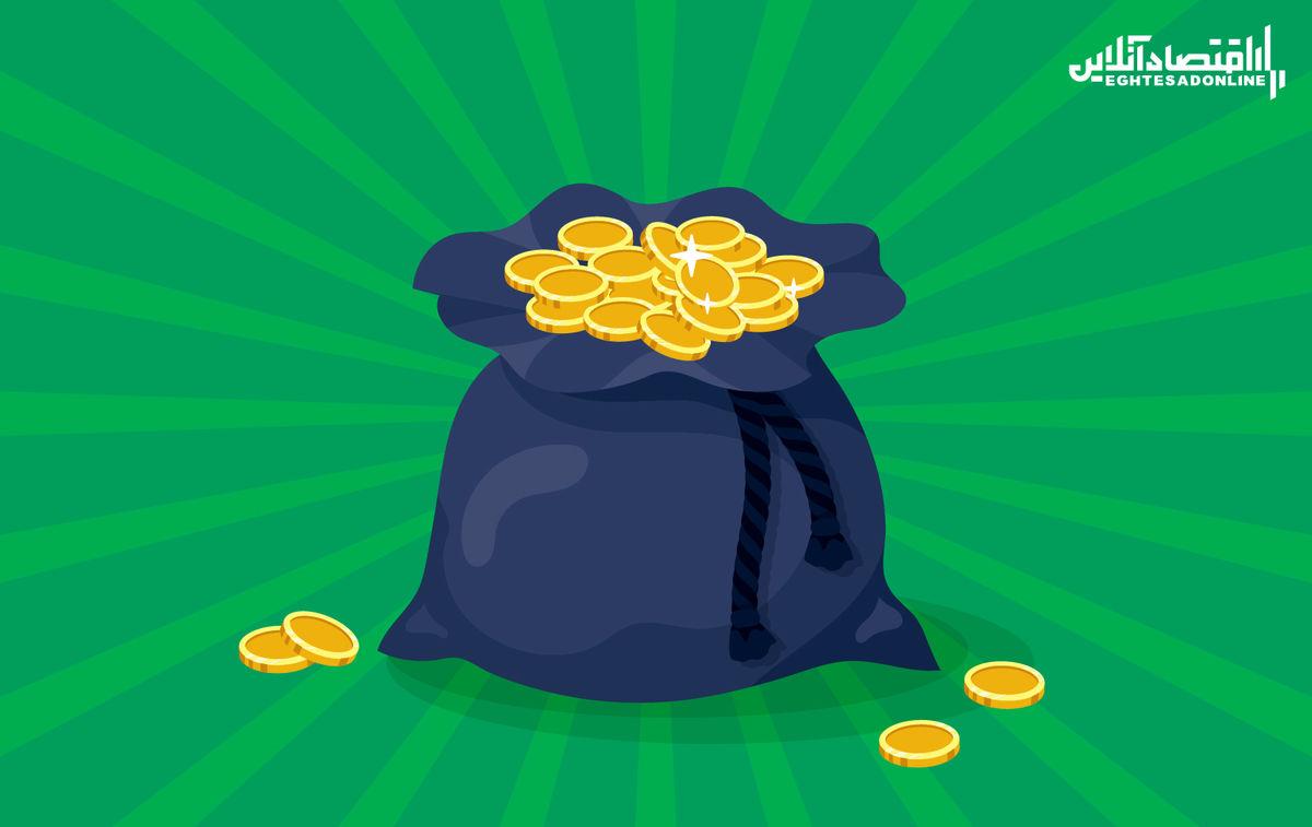 کاهش قیمت سکه در پایان هفته