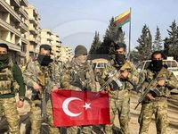 تصرف شهر عفرین سوریه توسط ارتش ترکیه +تصاویر