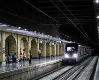 سرویس دهی مترو ۱۴ و ۱۵ همانند روزهای تعطیل است