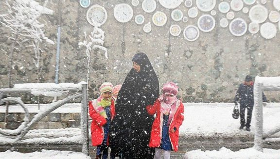 مدارس ابتدایی قزوین در نوبت صبح دوشنبه تعطیل شد