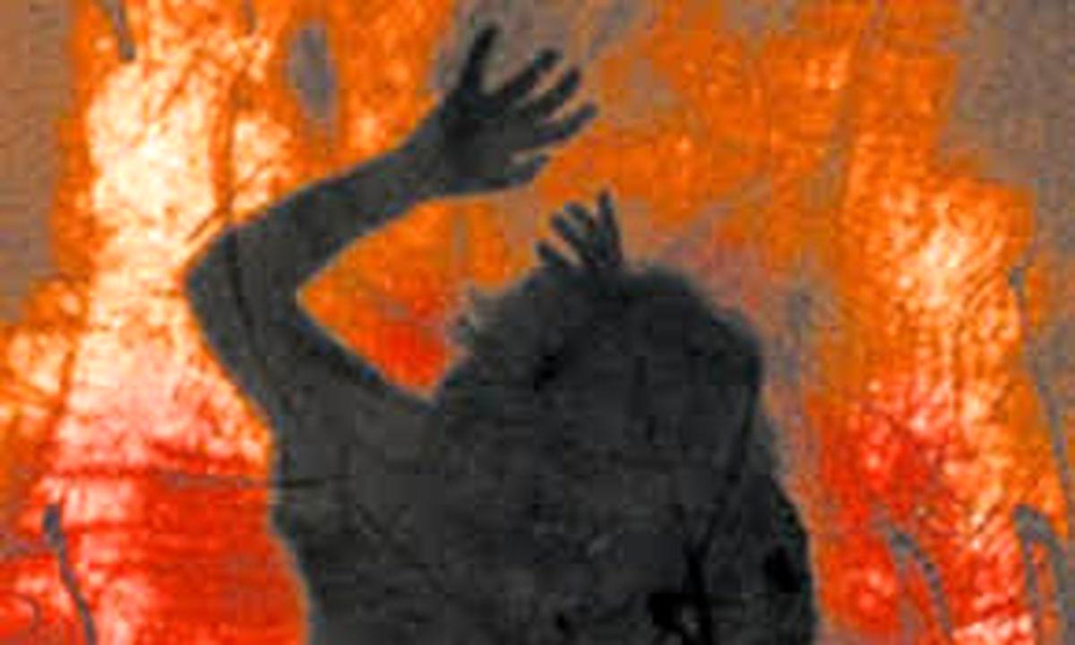مادرشوهر عروس 16 ساله و باردارش را سوزاند
