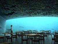 اولین رستوران زیر آب اروپا +تصاویر