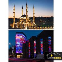 لزوم طراحی نورپردازی نمای ساختمان و تجهیزات رایج آن