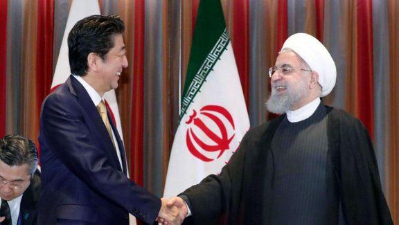 روحانی چهارشنبه از شینزو آبه میزبانی میکند