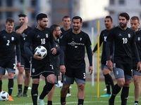 تمرین تیم ملی فوتبال +تصاویر