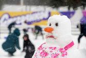 جشنواره آدم برفیها در مسکو +تصاویر