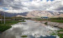 آبگرفتگی زمینهای کشاورزی در اثر سیل در کرمانشاه +عکس