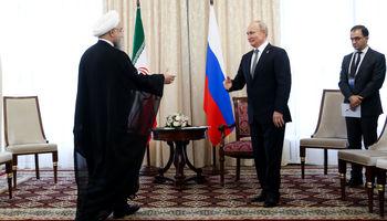 دیدار روسای جمهوری اسلامی ایران و فدراسیون روسیه +تصاویر