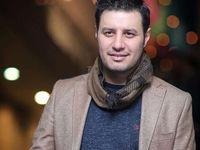 تیپ جدید جواد عزتی +عکس