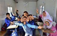 وضعیت مدارس مناطق سیل زده آق قلا +تصاویر
