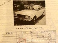 افزایش باورنکردنی قیمت خودرو در ایران در کمتر از ۳دهه! +عکس