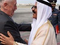 دیدار وزیر دفاع آمریکا با پادشاه بحرین