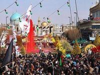 ورود بیش از ۴میلیون زائر به مشهد مقدس