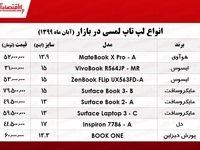 قیمت جدیدترین لپ تاپهای لمسی بازار +جدول