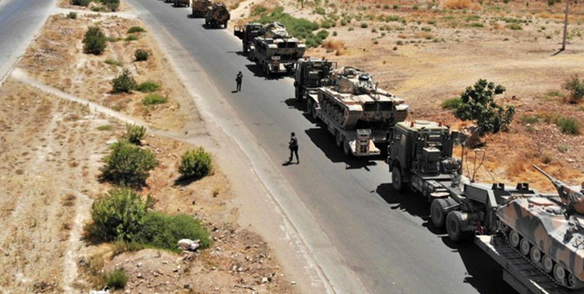 پنجمین کاروان لجستیک آمریکا در عراق هدف قرار گرفت
