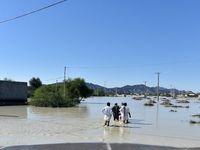 سیل در بلوچستان +تصاویر