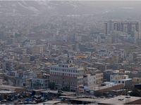 آلودگی هوا در اراک +تصاویر