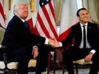 گفتگوی ترامپ و مکرون با محوریت ایران