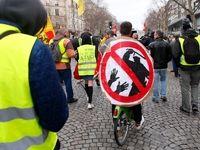 تظاهرات جلیقه زردها در فرانسه با حضور اندک معترضان