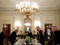 ضیافت ناهار ترامپ برای شاهزاده سعودی +تصاویر